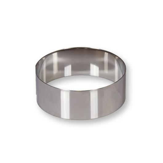 Cserni rozsdamentes 11 cm tortagyűrű