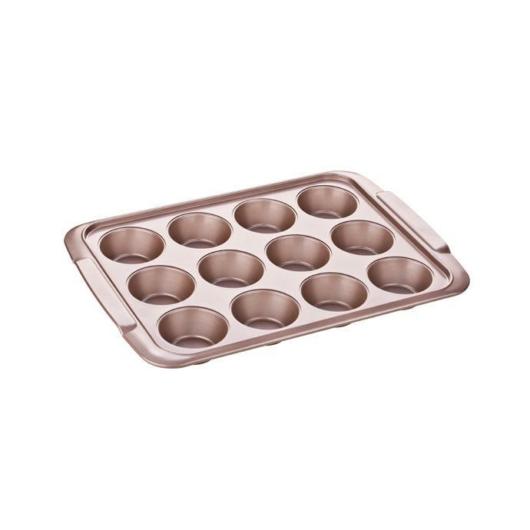Tescoma Delícia Gold muffin sütőforma 12 db-os
