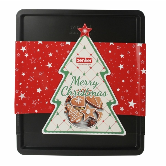 Karácsonyi csomagolású Zenker állítható tepsi