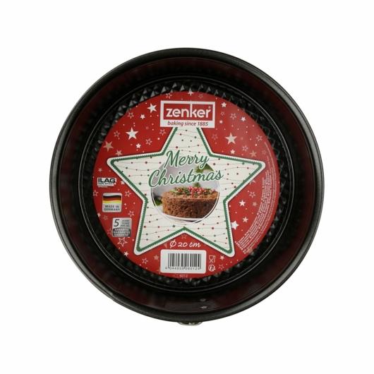 Karácsonyi csomagolású Zenker kapcsos 20 cm tortaforma