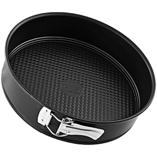 Zenker Black Metallic kapcsos 28 cm tortaforma