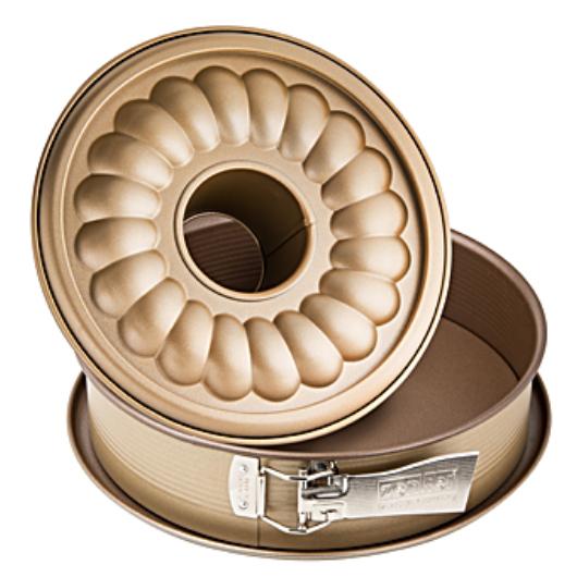 Zenker Mojave Gold kapcsos 26 cm tortaforma kuglóf betéttel