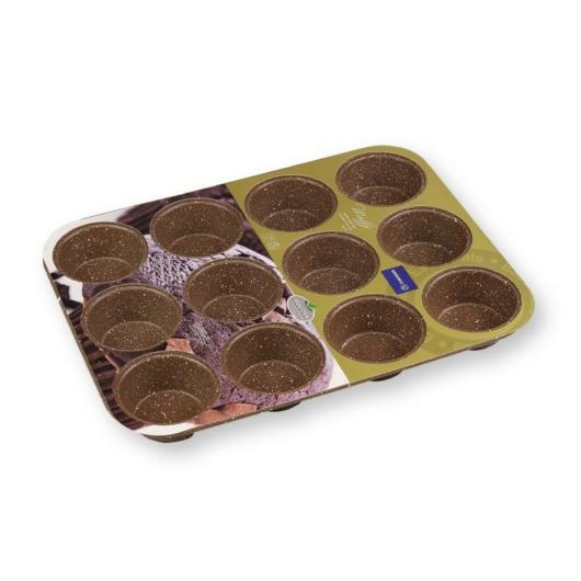 Korkmaz 12 adagos tapadásmentes muffin forma